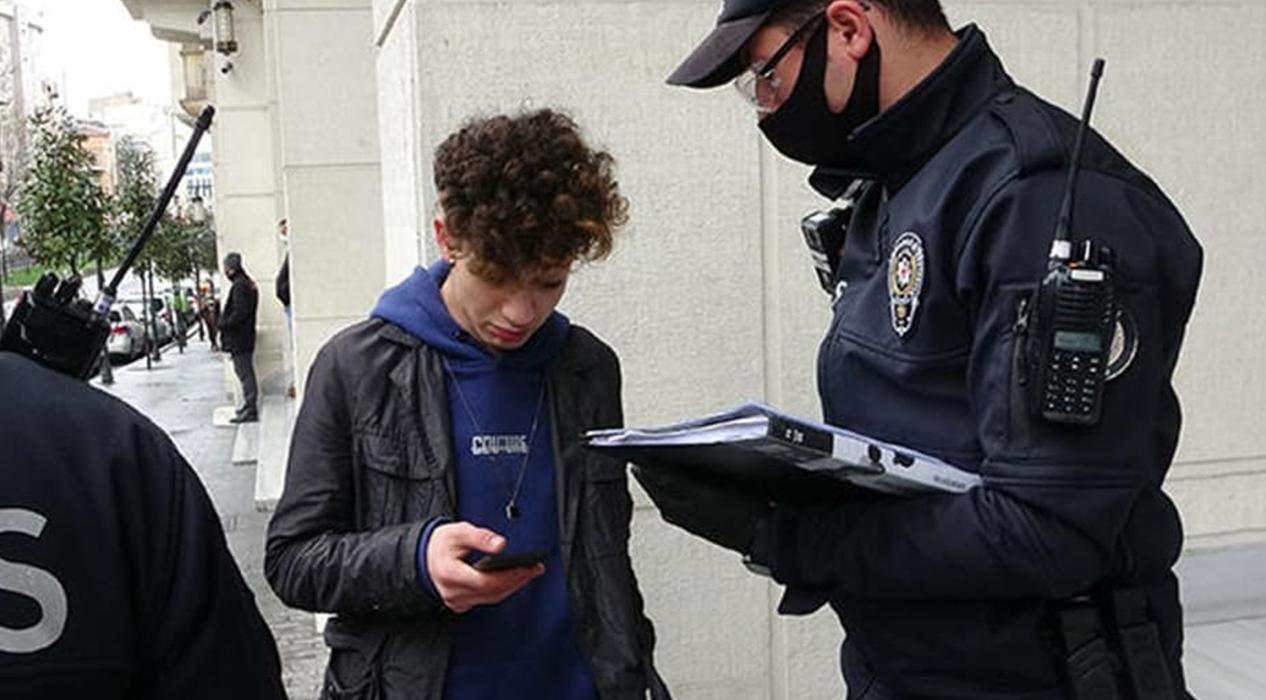 17 Yaşındaki genç cezaya 'problem değil' dedi