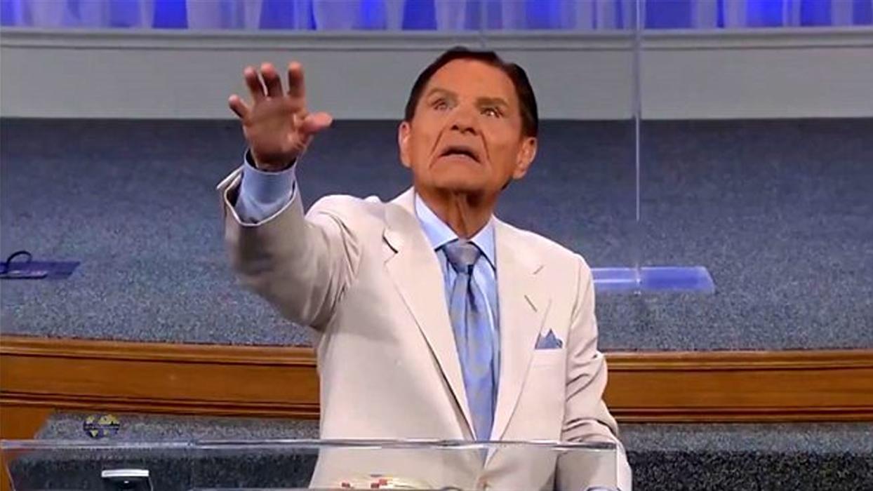 ABD'li misyonerden koronavirüs ayini: 'Sana emrediyorum şeytan!'