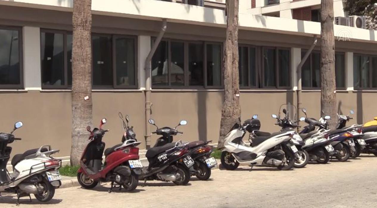 Motosikletlilere sosyal mesafe
