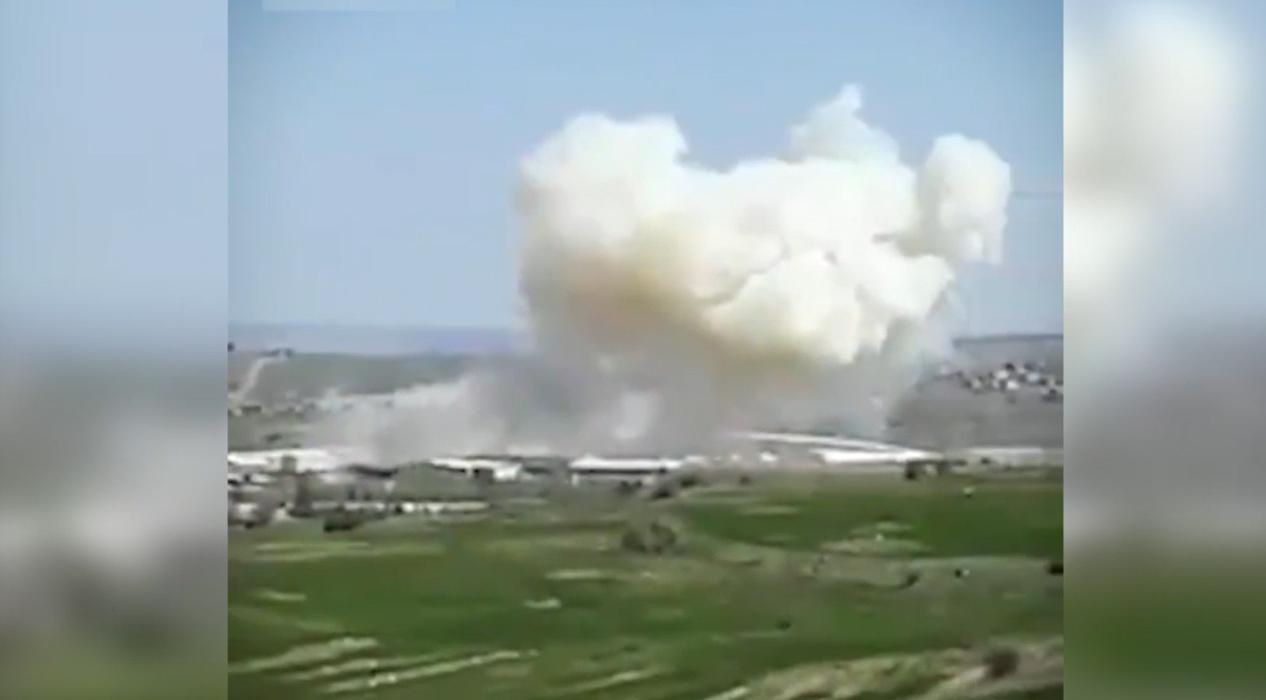 Roketsan'da patlama! işte ilk görüntüler...