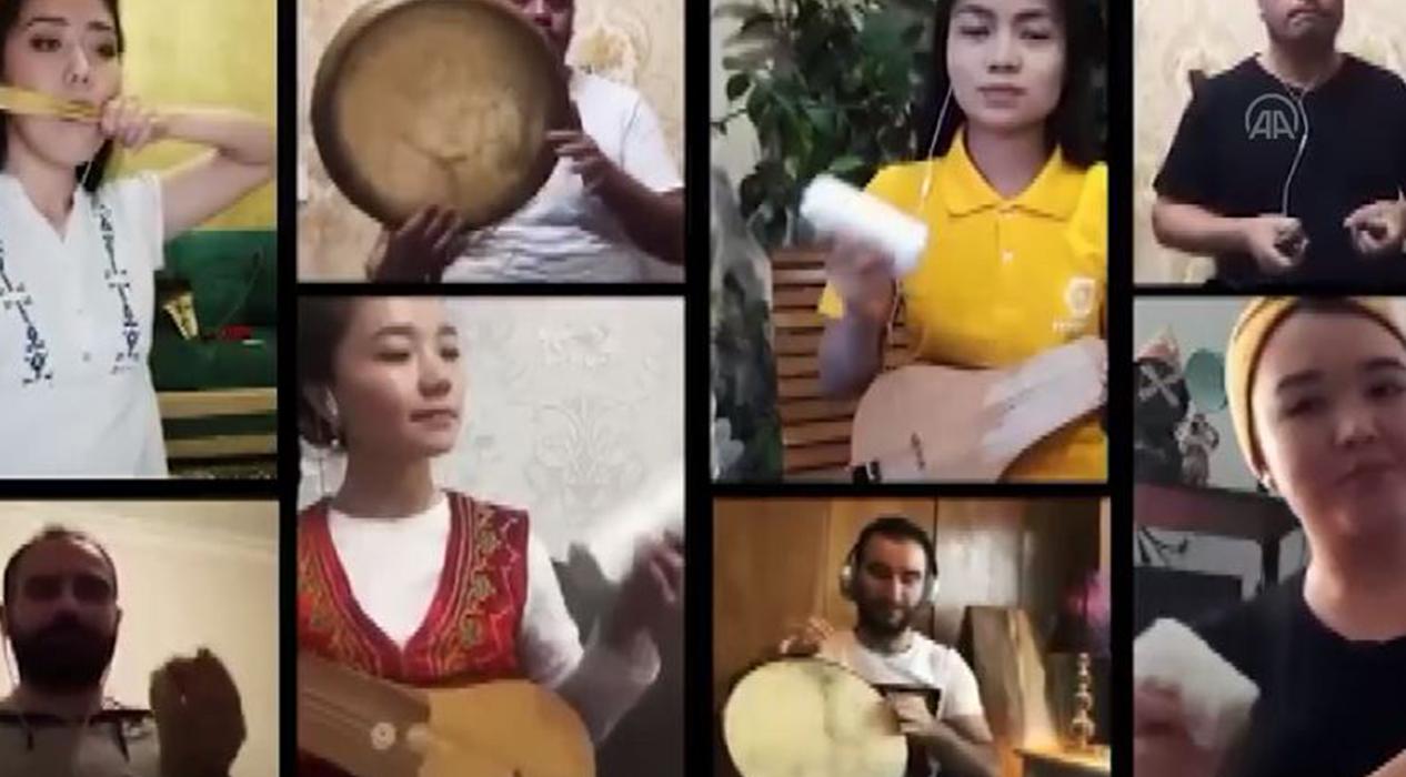 TÜRKSOY'dan Türk dünyasına 'evde kal' mesajı