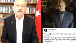 Üsküdar İlçe Başkanı'nın itirafları Kılıçdaroğlu'nu yalanladı