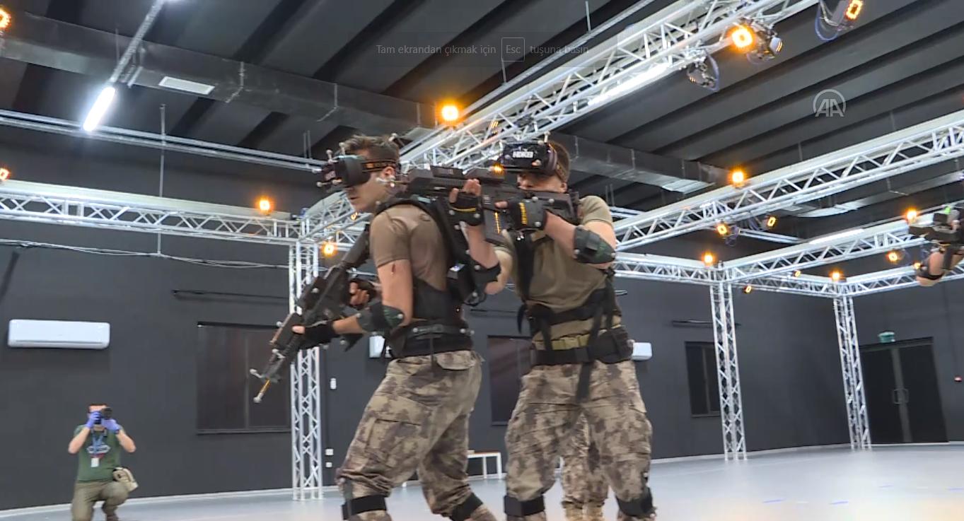 Özel Harekat Polisleri çatışma şartlarına sanal ortamda hazırlanıyor
