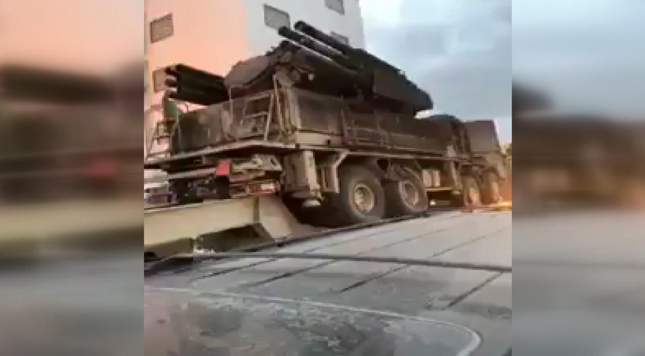UMH güçleri Hafter'in hava savunma sistemini transfer etti