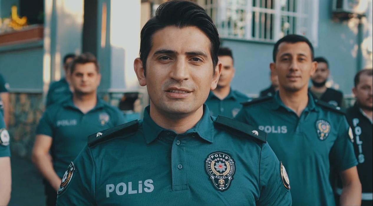 Beyoğlu polisinden klipli bayram tebriği