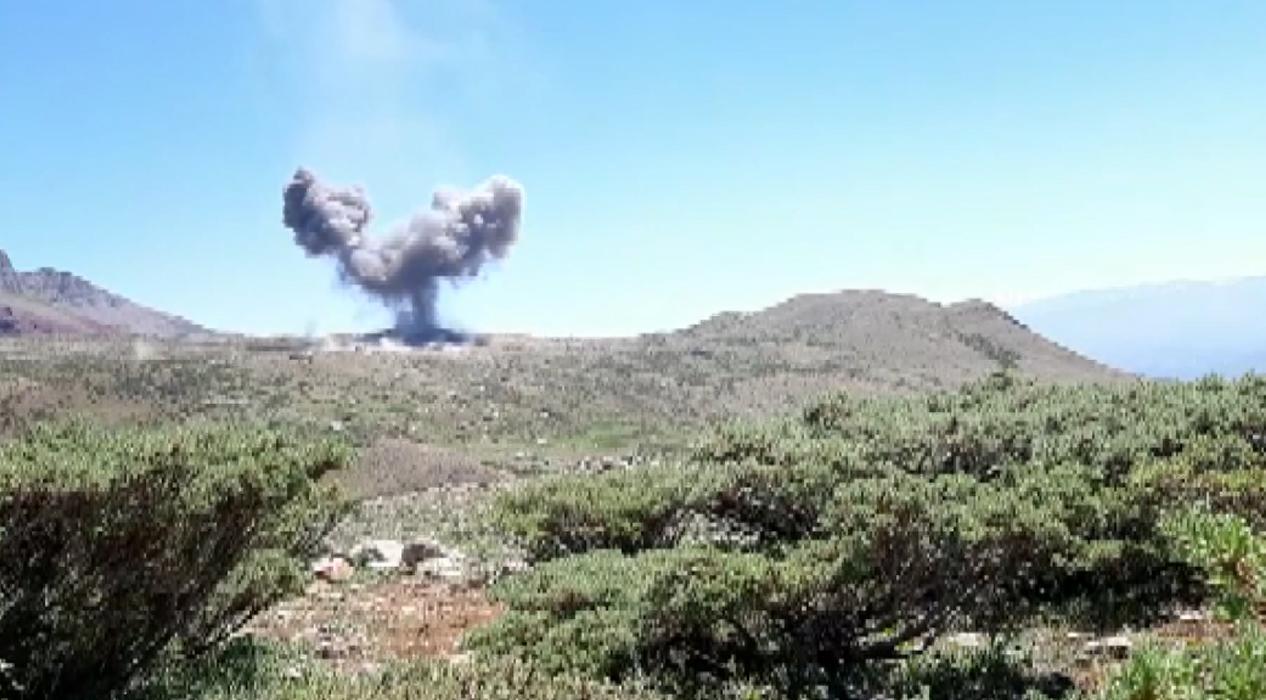 Siirt Pervari'de 2 teröristin etkisiz hale getirildiği an