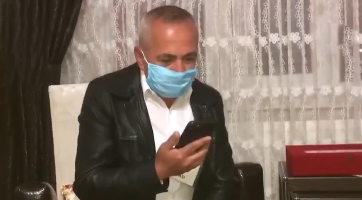 Cumhurbaşkanı Erdoğan Şehit teğmenin babasıyla görüştü
