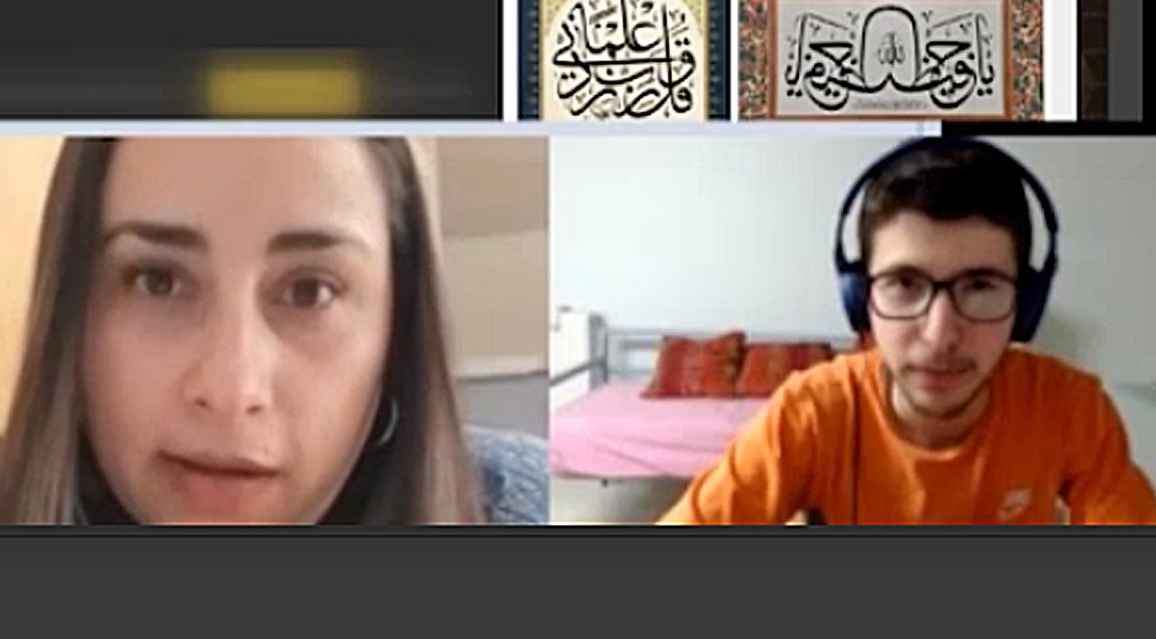İmam Hatip Liseli genç, internetten tanıştığı Şilili kadının Müslüman olmasına vesile oldu