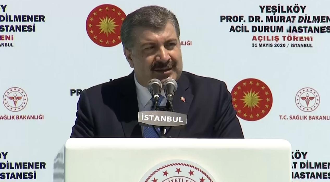 Sağlık Bakanı Fahrettin Koca: 'Acil durum hastanelerimiz Türkiye için zorunlu projelerdir'