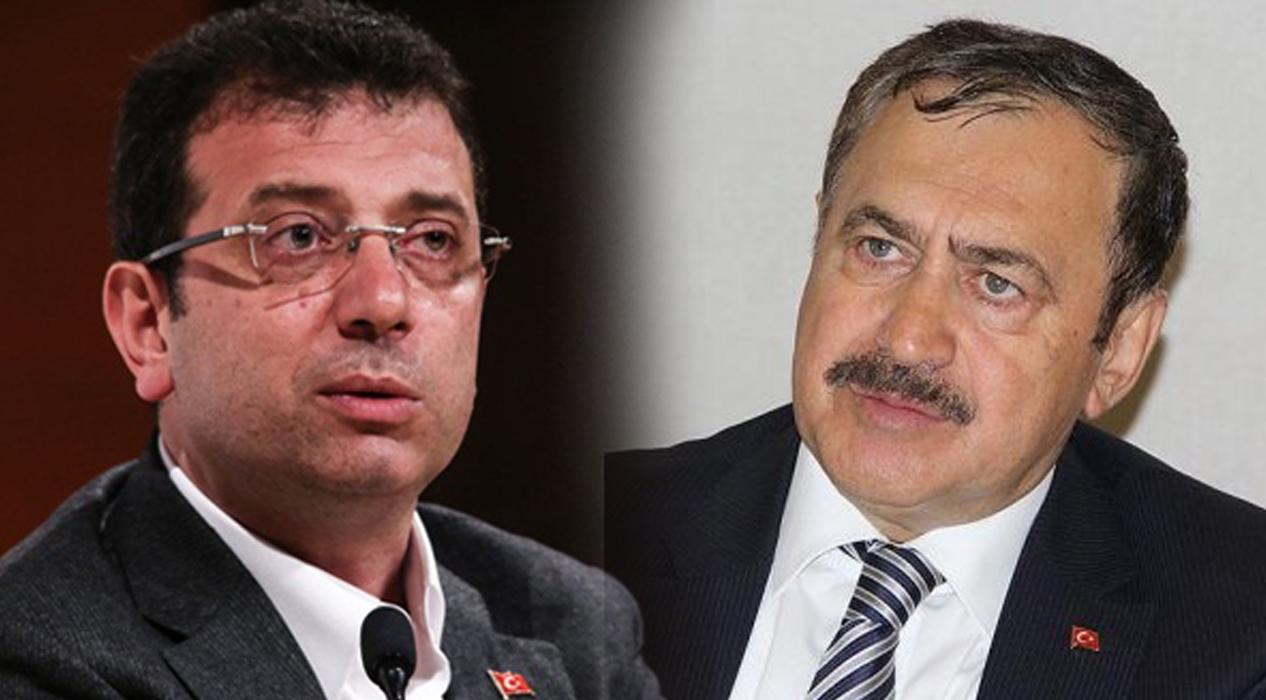 Veysel Eroğlu'ndan Ekrem İmamoğlu'na 'Haliç' tepkisi