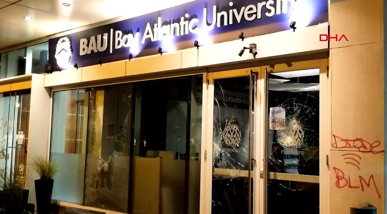 ABD'deki protestolarda Türk üniversiteleri de yağmalandı