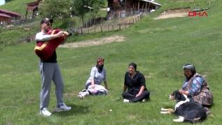 Ayder Yaylası'nda turizm sezonu açıldı
