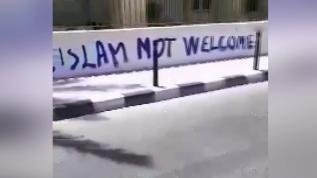 Güney Kıbrıs'taki Köprülü Camii çirkin saldırıya uğradı