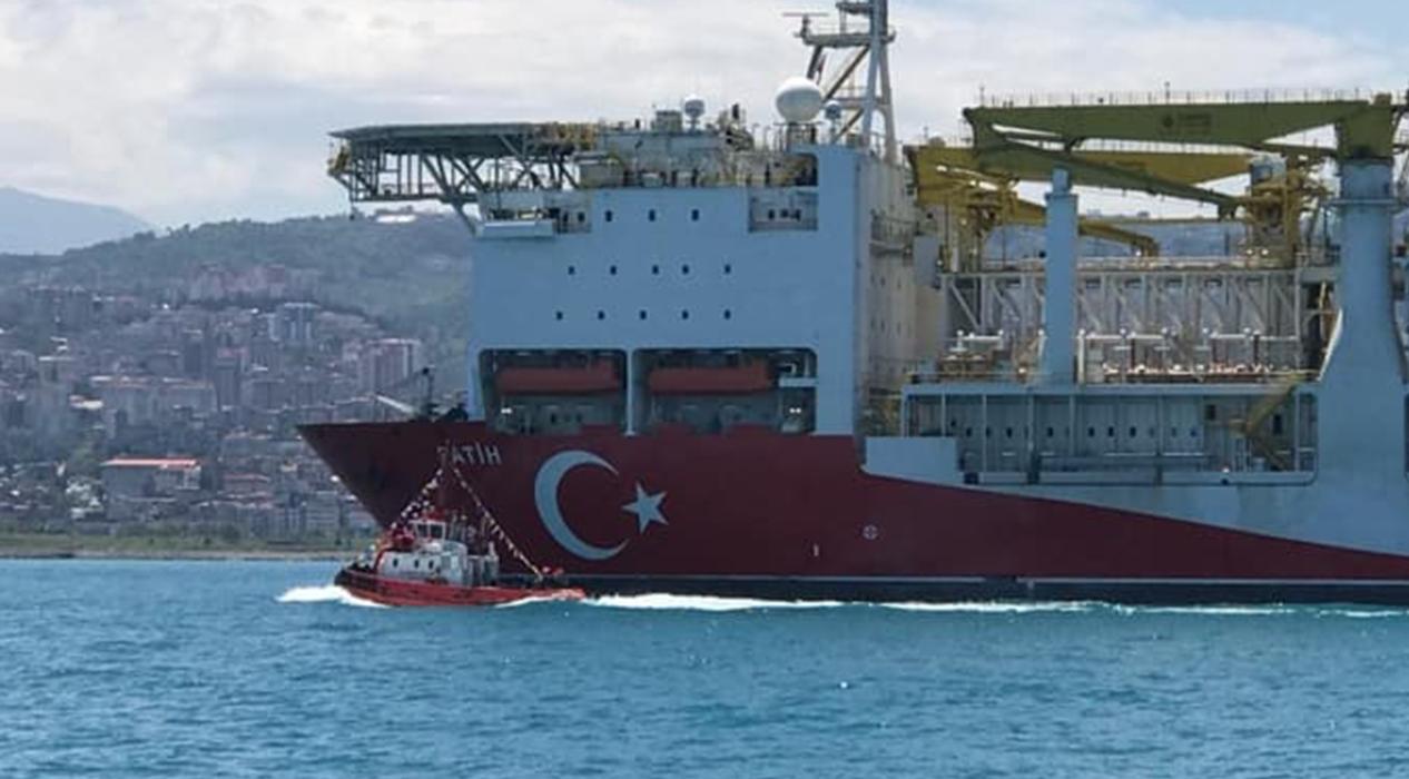 Yerli sondaj gemimiz Fatih Trabzon'da