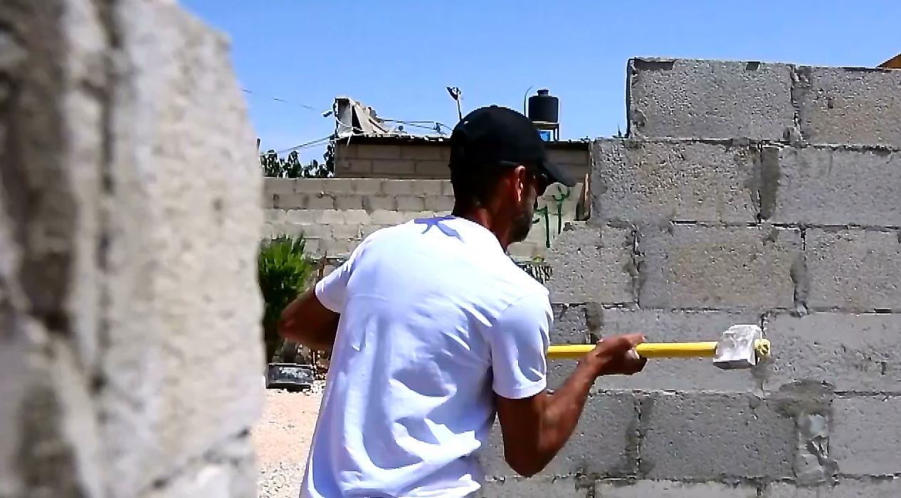 İşgalci İsrail Kudüs'te Filistinlilere ait evleri yıkmaya devam ediyor