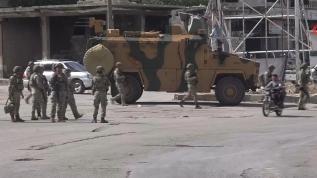 Tük Silahlı Kuvvetlerinden M4 karayolunda devriye