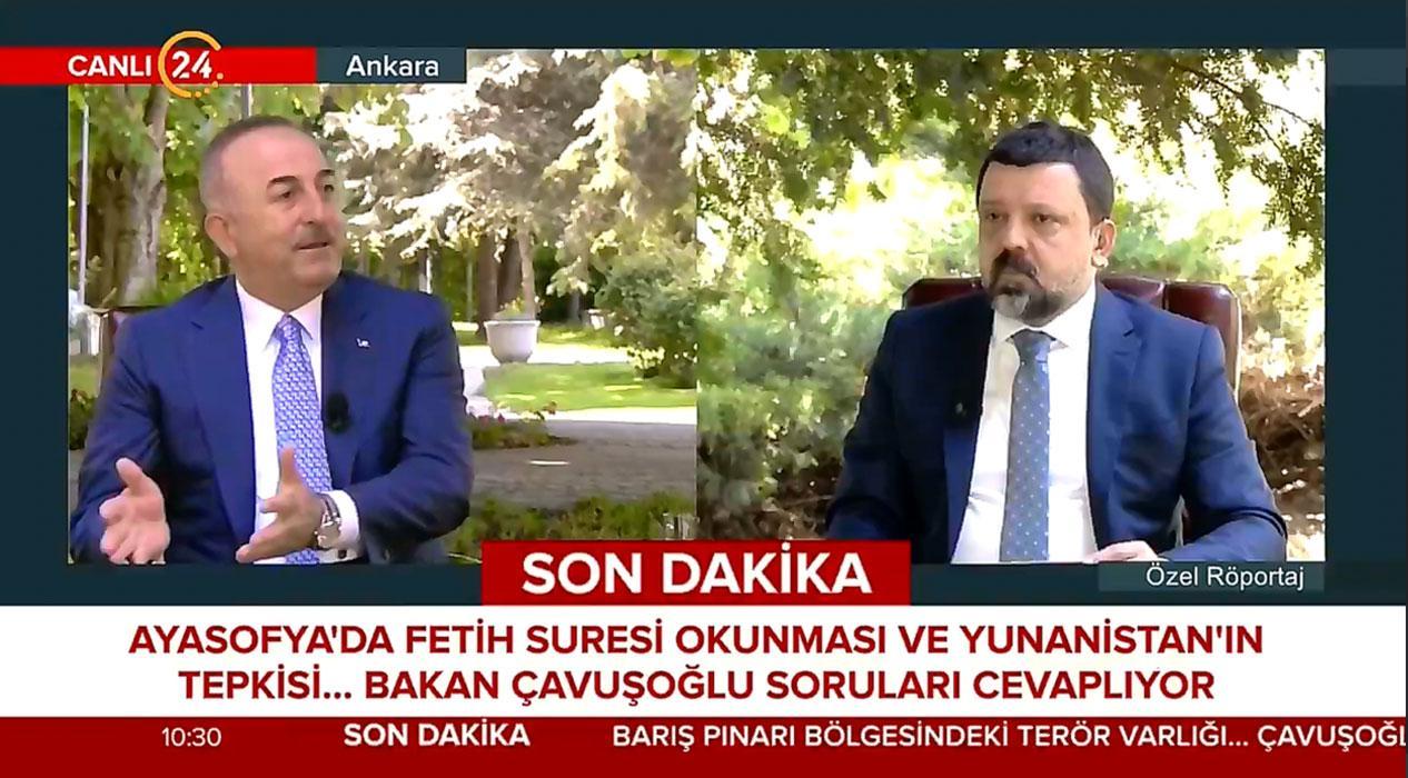 Bakan Çavuşoğlu çok sert konuştu: Yunanistan'a soracak değiliz!