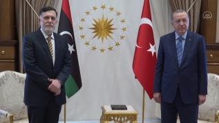 Başkan Erdoğan ve Serrac görüştü