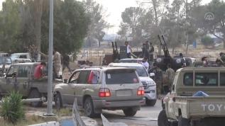 Trablus Havalimanı Darbeci Hafter'e bağlı milislerden kurtarıldı