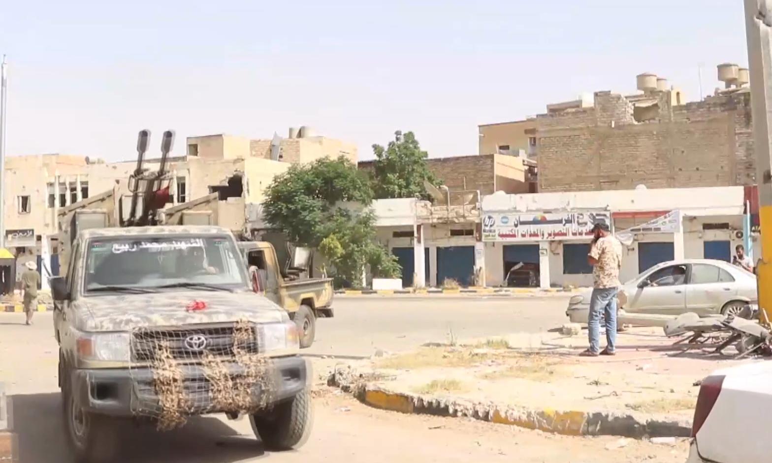 Libya ordusu Terhune vilayetini kuşattı
