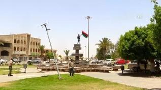 Libya ordusunun zaferi kentte coşkuyla karşılandı