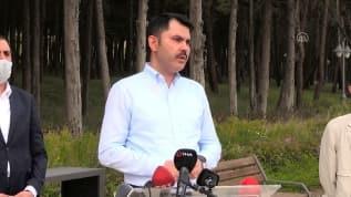 Bakan Kurum'dan çok sert 'Riva Deresi' açıklaması