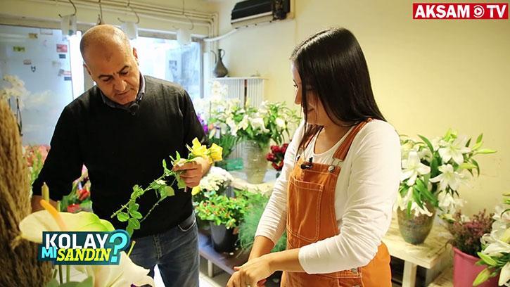 Çiçekçi olmak kolay mı?