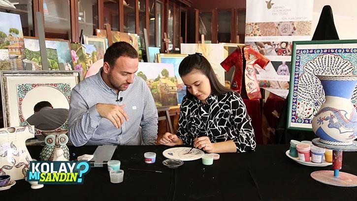 Çini Boyama Yapmak Kolay Mı Sandın?