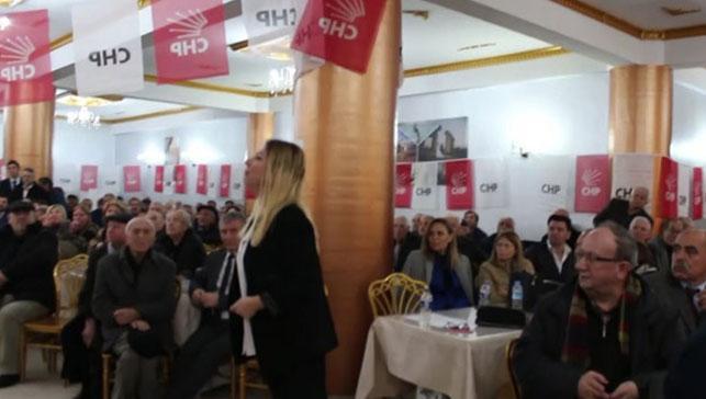 CHP kongresinde kadın delegeye hakaret: Otur lan yerine!