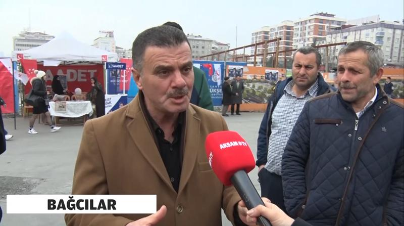 Akşam TV Yerel Seçim Öncesi Halkın Nabzını Tuttu: Bağcılar