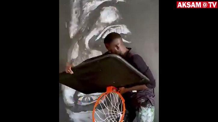 Ünlü Sanatçı Bou Bou Niang'tan Kobe Bryant Çalışması