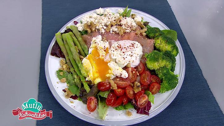 Protein Salata Nasıl Yapılır? Mutlu Kahvaltılar'da Protein Salata Tarifi