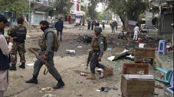 Afganistan'ın başkenti Kabil'de bomba yüklü araçla gerçekleştirilen intihar saldırısında en az 1 ki