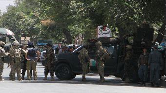 Afganistan´ın başkenti Kabil´de NATO konvoyuna bombalı araçla saldırı düzenlendi