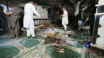 Afganistan'da camiye saldırı: 29 ölü