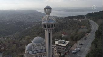 İstanbul Manzaralı, Minareli Kütüphane