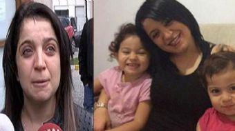 Babaları tarafından öldürülen 2 ve 4 yaşındaki iki kızın cenazeleri otopsi için Adli Tıp Kurumu'na g