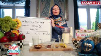 Ev Yapımı 'Protein Shake' Tarifi