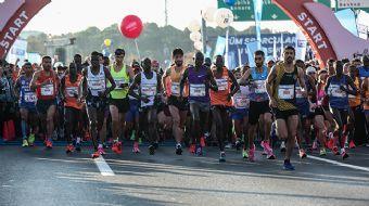 41. İstanbul Maratonu Başladı