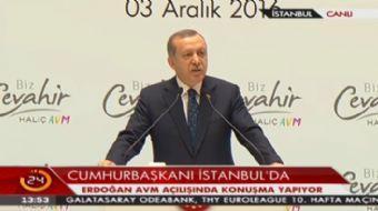 Cumhurbaşkanı Erdoğan: Rabbim zihniyeti engelli olanlardan korusun