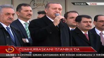 Cumhurbaşkanı Erdoğan: 15 Temmuz'da tanklarla bizi yıkamayanlar bu defa ekonomik darbeyle yıkmaya ça