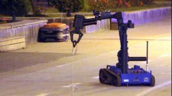 Tamamen Yerli ve Milli! Bomba İmha Robotu 'Ertuğrul' Görev Başında