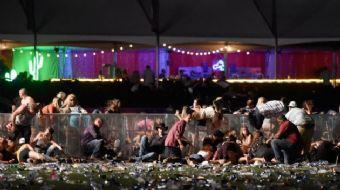 ABD'nin Las Vegas kentinde konsere gerçekleştirilen ve 59 kişinin hayatını kaybettiği saldırı anına