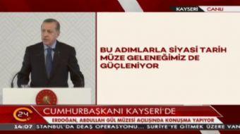 Cumhurbaşkanı Erdoğan: Bu adımlarla siyasi tarih müze geleneğimiz güçleniyor