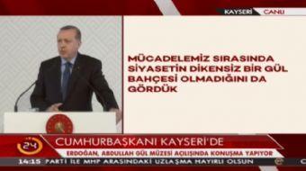 Cumhurbaşkanı Erdoğan: 15 Temmuz'da önümüzü kesmeye çalıştılar. Milletimiz 16 saatte darbecilere dar
