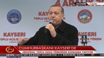 Cumhurbaşkanı Erdoğan: Bu FETÖ'cü teröristler 15 Temmuz'da bizi esir almak istediler. Ama bunlar Rab