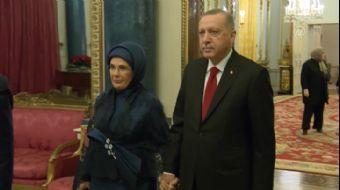 Başkan Erdoğan, Buckingham Sarayı'nda Verilen Resepsiyona Katıldı