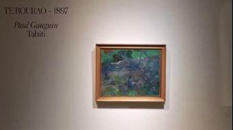 Gauguin'in 'Te Bourao II' Tablosu 10,5 Milyon Dolara Alıcı Buldu