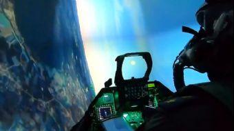 Türk Pilotlar Yerli F-16 Simülatörü İle Her Senaryoya Hazır!