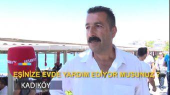Türk Erkeklerine Sorduk: Eşinize Yardım Ediyor Musunuz? | #KırmızıMikrofon